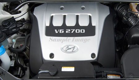 2007 Hyundai Tucson Engines