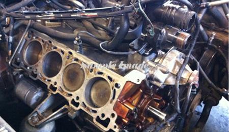 Jaguar XJR Engines
