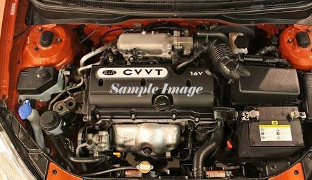 Kia Rio Engines